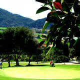 Majorca golf, perfect in cooler sunny Majorca April weather