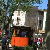 Take the tram around Soller on the west Mallorca coast