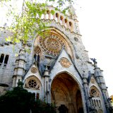 Soller Cathedral in Soller's central square